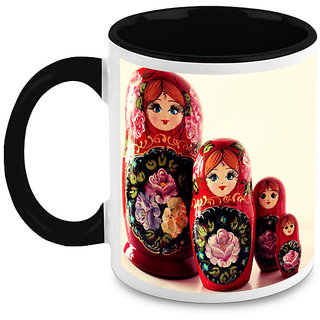 HomeSoGood Cute Doll Bottles Coffee Mug (HOMESGMUG1647)