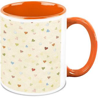 HomeSoGood Place Full Of Hearts Coffee Mug (HOMESGMUG1687)