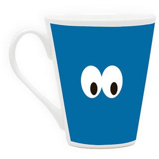 HomeSoGood I See You Latte Coffee Mug (HOMESGMUG1701)
