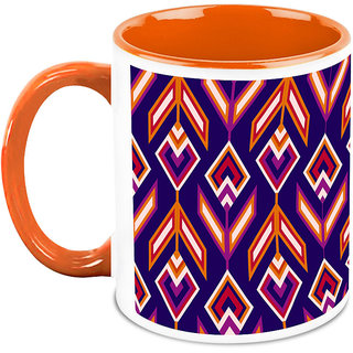 HomeSoGood Colorful Arrows Coffee Mug (HOMESGMUG1666)