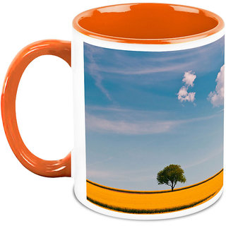 HomeSoGood View Of Clear Sky Coffee Mug (HOMESGMUG1672)