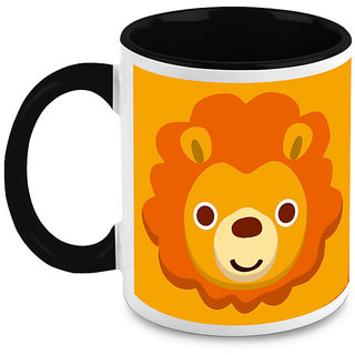 HomeSoGood Cute Lion Coffee Mug (HOMESGMUG1622)