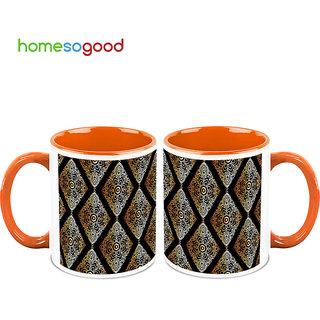HomeSoGood Lovely Wall Hangings Coffee Mugs (2 Mugs) (HOMESGMUG700-A)