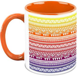 HomeSoGood Random Sharp Designs Coffee Mug (HOMESGMUG1678)