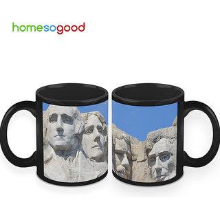 HomeSoGood The Presidents Of USA Coffee Mugs (2 Mugs) (HOMESGMUG413-A)