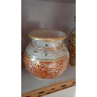 Marbel Loota Mug 6 inch Painted handicraft