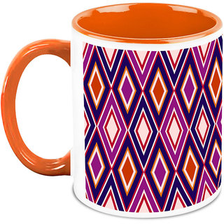 HomeSoGood Bright Cubic Structures Coffee Mug (HOMESGMUG1662)