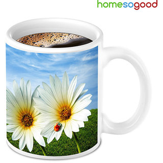 HomeSoGood New Day Fresh Beginning With Coffee Mug (HOMESGMUG032)