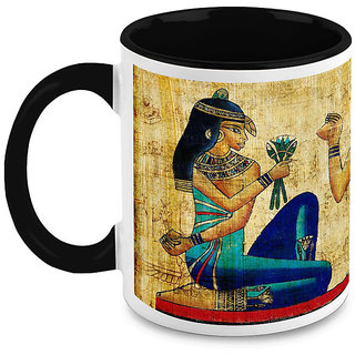 HomeSoGood Mummies Paintings Coffee Mug (HOMESGMUG1649)