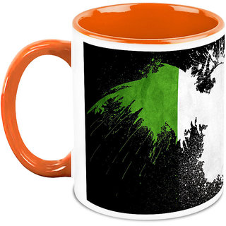 HomeSoGood Tri Colors Scattered On Wall Coffee Mug (HOMESGMUG1695)