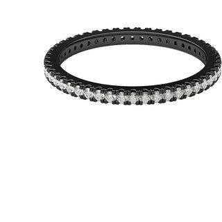 Diamonds and Hallmarked 18kt  Black Rhodium Gold Ring LA-2BLACKRHODIUM18KT