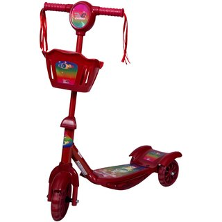 COSMIC ZOOMER 3 WHEEL KIDS FUN KICK SCOOTER RED