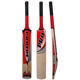 Protos english willow cricket bat whirlwind full size - 7 no