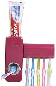Touch Me Toothpaste Plastic Installation Based Dispenser