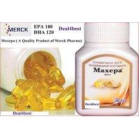 Maxepa Omega-3 Fish Oil Caps (EPA & DHA) 240 Softgel Capsules.