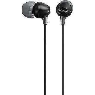 Sony MDR-EX15LP In-Ear Headphones (Black) MRP 690/- Classic earphones