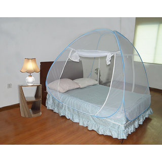 Buy Double Bed Sized Folding Pop Up Canopy Mosquito Net With Carry