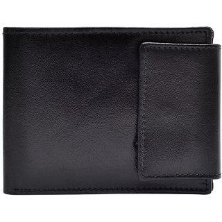 Hawai Buttoned Exquisite Black Wallet for Men