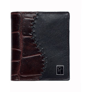 Hawai New Design Dual Shade Men's Leather Wallet