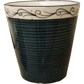 DreamBag Ceramic Vase - Dark Green - C006