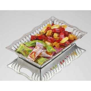 Sukhson India Parker 1 Silver Tray (Silver)