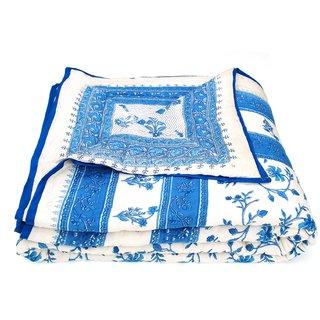 Krg Enterprises Jaipuri Double Bed Cotton Razai / Quilt