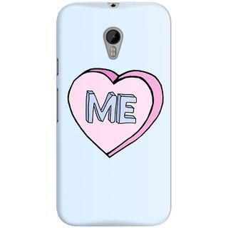 The Fappy Store I-Heart-Me Hard Plastic Back Case Cover For Motorola Moto G3