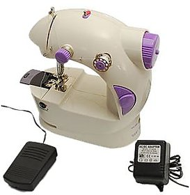 lovato mini portable electrical sewing machhine with foot padal