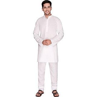 Anand kurta men's full  white