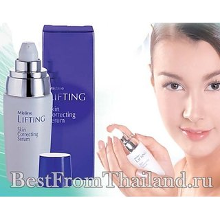 Mistine Face Facial Lifting Serum Skin Correcting Anti-aging with Co-q10 30ml Ma