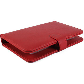 Ape 7Inch Tablet Cover For Datawind UBISLATE 7CX Tablet (Red)