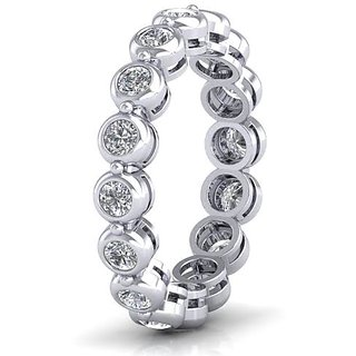 Icrjewels Brand New ICJSL39 Round CZ Sterling Silver Ring For Woman