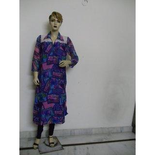 Collor designe blue kurti