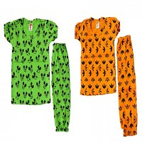 Babys Multicolour Night Wear Pack of 2