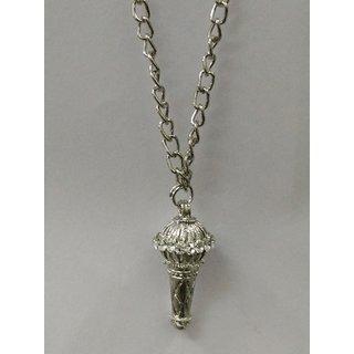 Divya Bajrangi Bhaijan Locket with chain (Silver)