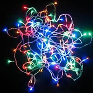 Decorative Flickering Multi-Color Led Rice Light for Diwali 10mtr