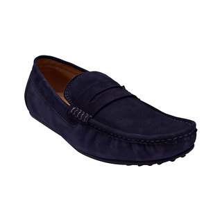 8291370b450 Buy Hirels Blue Loafers Online - Get 53% Off