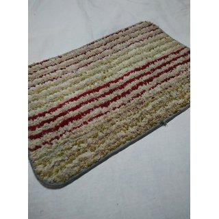 washable bath door mats (pack of 2)