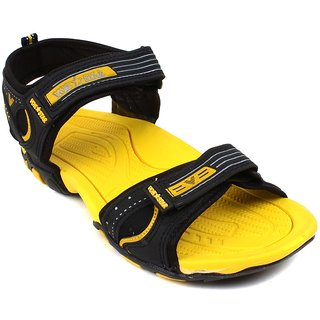 a367c4b84a58 Buy Vokstar Mens Yellow Velcro Sandals Online - Get 0% Off