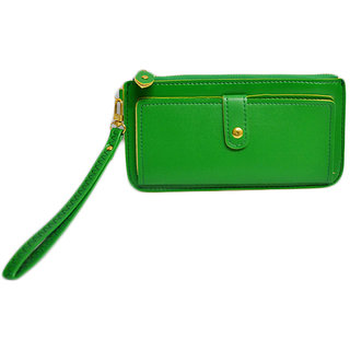 Skyways Women'S Green Wallet