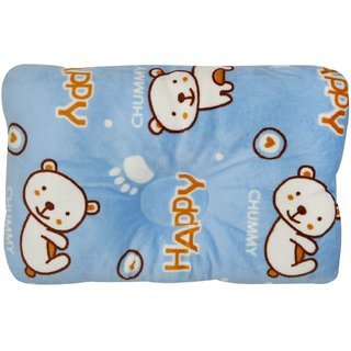 Wonderkids Teddy Print Square Pillow