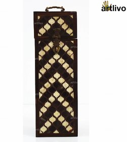 ARTLIVO Persian Inlay Woden Wine Box BO052