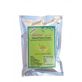 Alvira Pure Henna- Body Art Quality 100g X 4 Packs