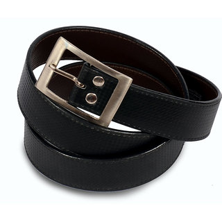 Men black stylish belt
