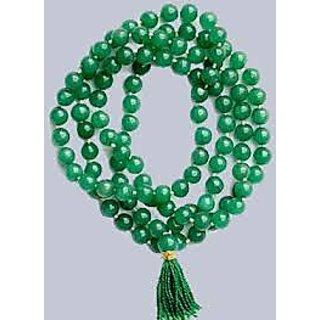green hakik mala (agate rosary)