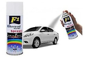 Aerosol Spray Paint White For Multipurpose(Car,Bike,Cycle,Etc.)