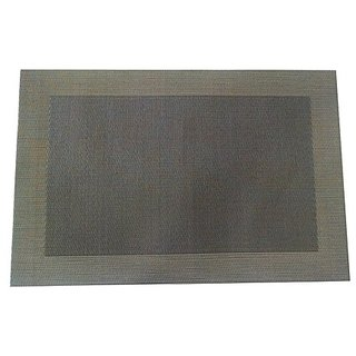 Welhouse India Rectangular Pack of 6 Table Placemat/ Dining table mat  PVC