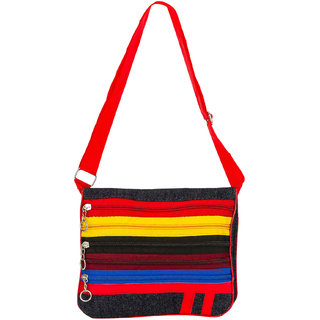 Glitters Zipper Sling bag(ZipperSlingC5)