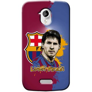 G.store Hard Back Case Cover For Micromax Canvas HD A116 - G1353