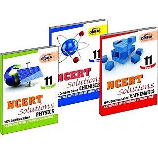 Ncert Solutions Class 11 - Pcm (Set Of 3 Books)